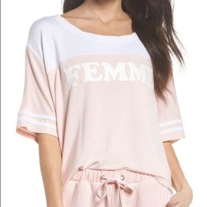 The Laundry Room Femme Top Boxy Pink
